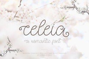 Celeia - Romantic font