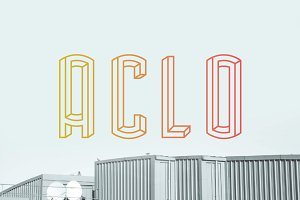 Aclo font