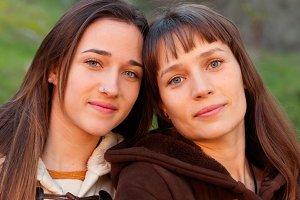 Pretty sisters