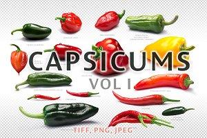 Set of Capsicums vol I