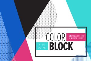 COLOR BLOCK Backgrounds