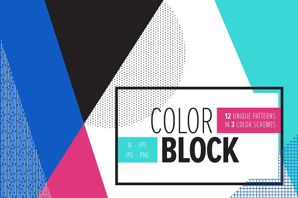 color block backgrounds graphic patterns creative market