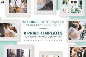 Wedding Photography Templates Pack 2