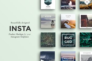 INSTA - Instagram Product Mockups