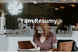 Resumy - Beautiful Wordpress Theme