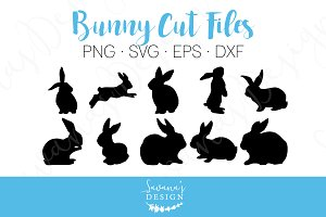 Rabbit Cut Files and Clipart