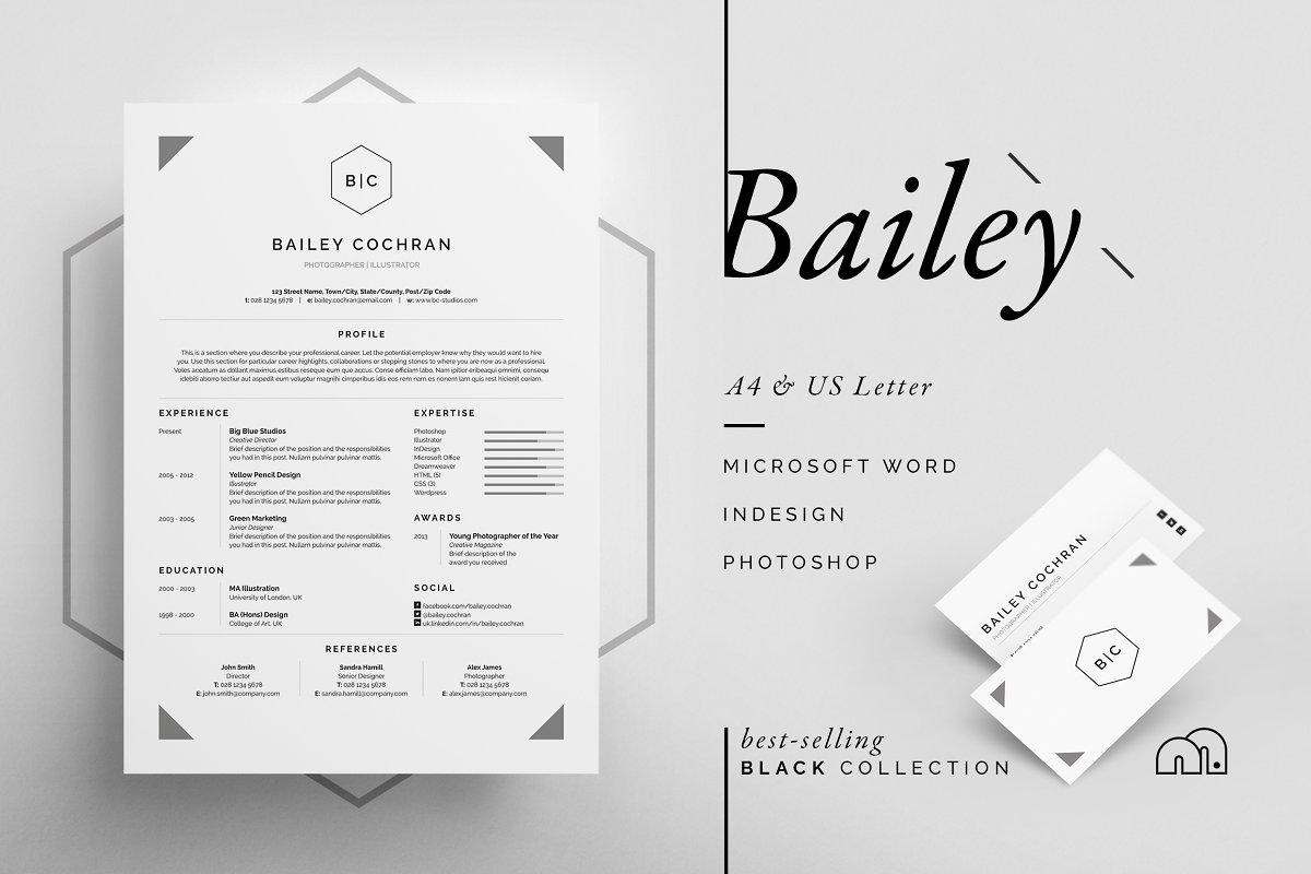Resume/CV - Bailey