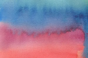 watercolor blot painted background