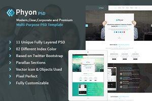 Phyon Multipurpose Responsive PSD