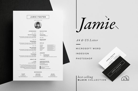 Heavy Equipment Mechanic Resume Word Resumecv  Jamie  Resume Templates  Creative Market Sections Of A Resume Excel with Sales Person Resume Excel Resumecv  Resume Template Google Excel