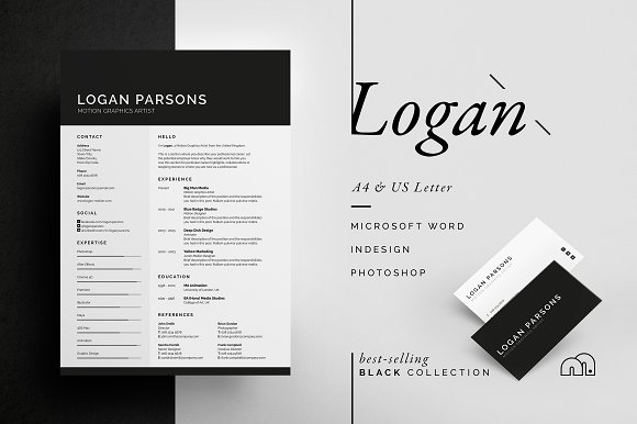 Resume/CV - Logan