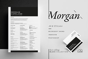 Resume/CV - Morgan