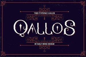 Qallos Typeface