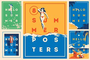 -30% 8 Summer Posters & Badge #1