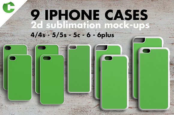 Download IPHONE CASE MOCK-UP 2d print