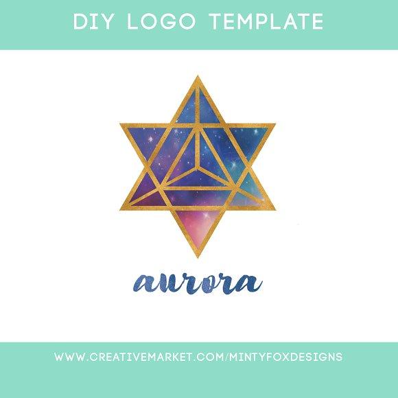 Sacred Geometry Logo Template