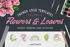 Logo Bundle Vol.5 - Flowers & Leaves