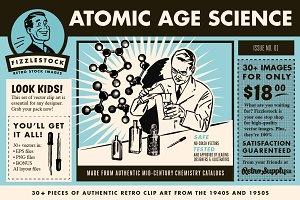 Atomic Age Science Part 2 | Clip Art