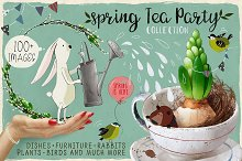 Shabby Chic Spring Tea Party