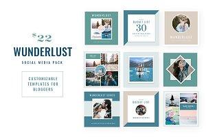 WUNDERLUST | Social Media Pack