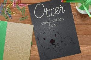 Otter - Font No.5