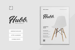 Hubb Magazine Template