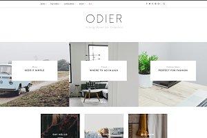 Odier - A Blog & Shop Theme