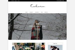 Kokoro - Beautiful Blog & Shop Theme