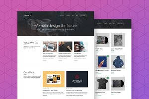 Atomic - Business & Portfolio Theme