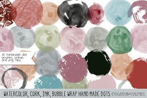 Assorted Dots Brushes/Stamps/Png