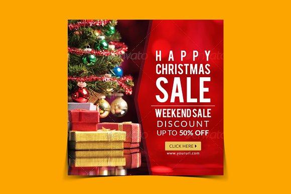 Christmas Sale Instagram Banner