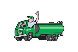 6 Wheeler Tanker Truck Driver W