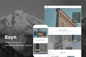 Bayn - WordPress Portfolio Theme