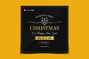 Christmas Instagram banner