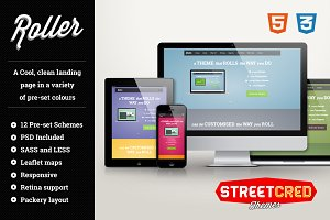 Roller - Responsive HTML Template