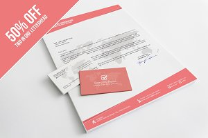 Minimal Letterhead & Business Card