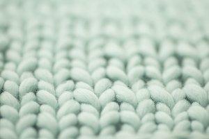 Mint woolen, fluffy sweate