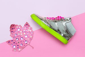 Shoes for Girl. Sneakers