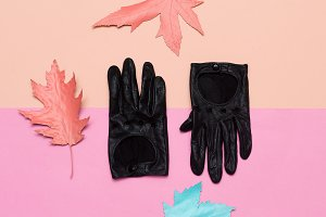 leather gloves Spring