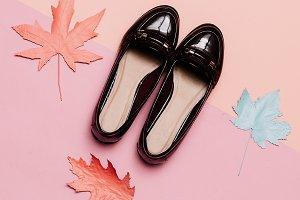 shoes for Lady Vintage Concept.