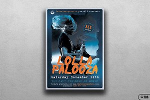 Music Festival Flyer Template V16