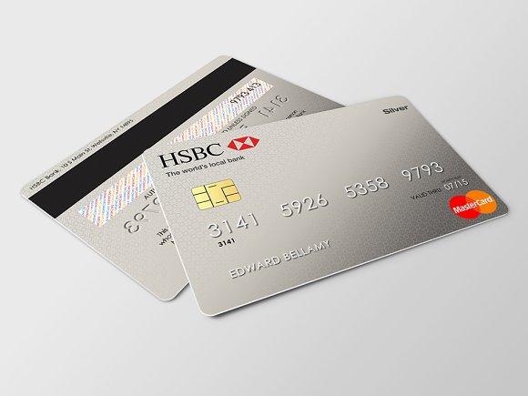 Credit card mockup product mockups creative market colourmoves