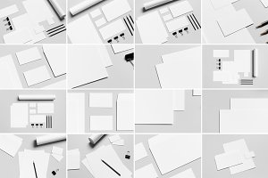 Stationery Mock-Up Photo Bundle