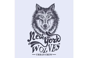 wolf new york label