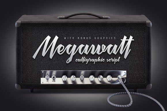 Megawatt Font Bonus