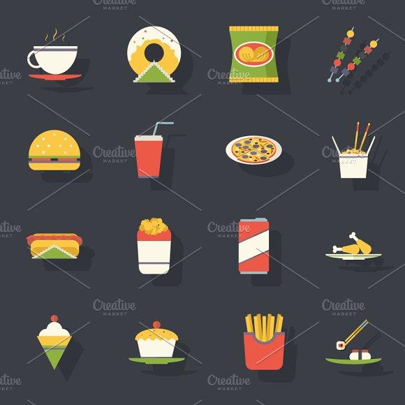 Flat Fast Food