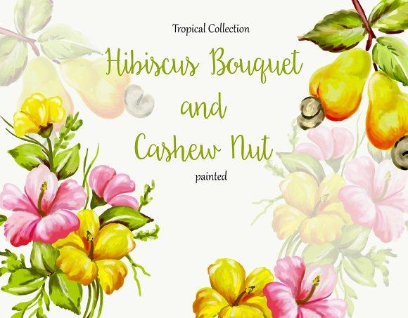 Hibiscus And Cashew