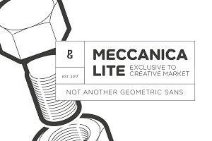 Meccanica Lite - 18 Font Family