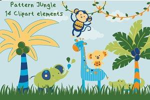 Pattern jungle-Boys