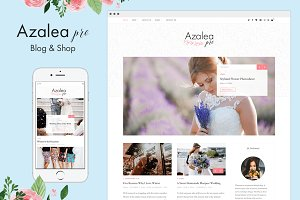 Azalea Pro - Blog & Shop Theme